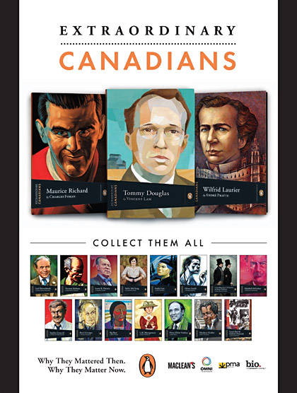 Extraordinary Canadians Promotional Poster