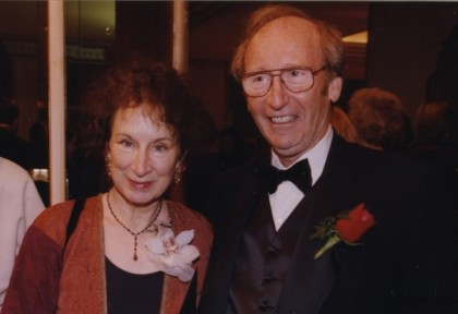 Margaret Atwood and Jack Rabinovitch, 1998